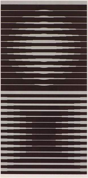 Victor Vasarely  Capella I (from Constellation series)