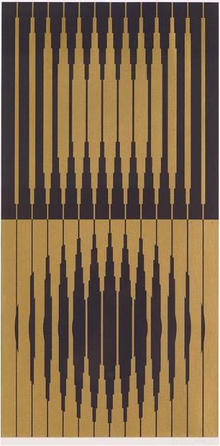 Victor Vasarely  Capella III (from Constellation...)