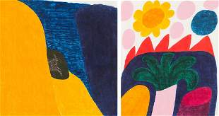 Carol Summers  (2) First Rain & Burning Mountain, 1985