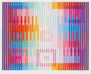 Yaacov Agam  White Light, 1992