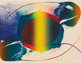 Paul Jenkins  Untitled IV (Phenomena Open Light), 1973