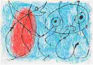 Joan Miró  Le Lézard aux Plumes d'Or (Maeght 517)