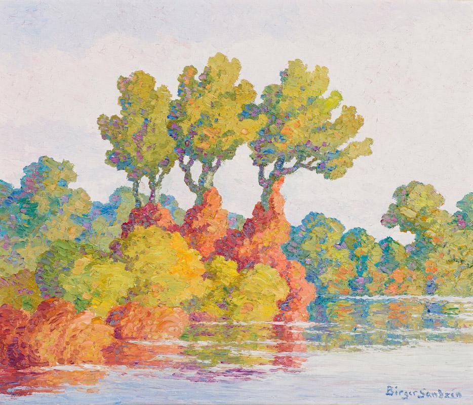 Birger Sandzén Autumn Harmony (Smoky Hill River...)