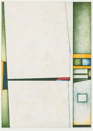 Gunther Gerzso  Muro Blanco, 1988