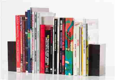 Andy Warhol Book Collection: (26) Books