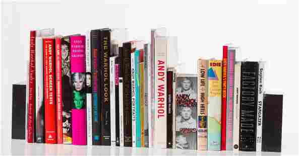 Andy Warhol Book Collection: (32) Books