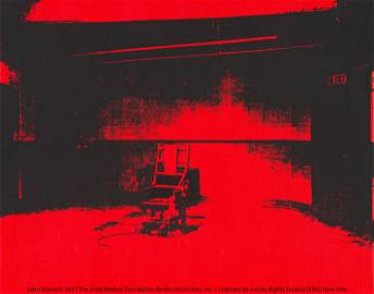 Andy Warhol Little Electric Chair, 1964/65