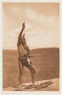 Edward Sheriff Curtis Invocation - Sioux