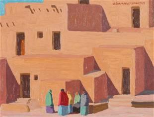 Logan Maxwell Hagege Pueblo Shadows, 2010