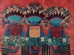 "Tony Abeyta, ""Navajo Yei Imagery"""
