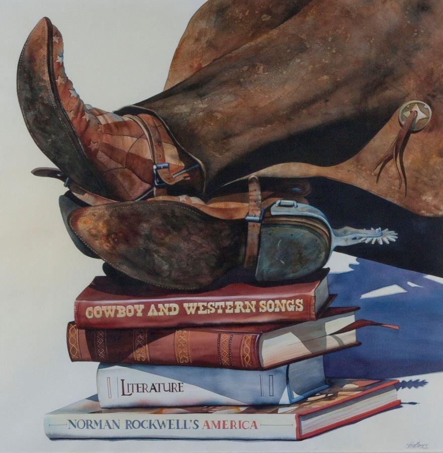 "Nelson Boren, ""Boots on Books"""