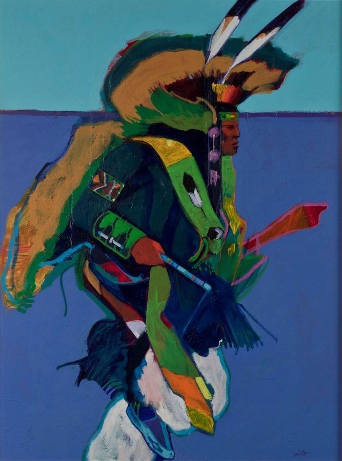 "John Nieto, ""Fancy Dancer"""