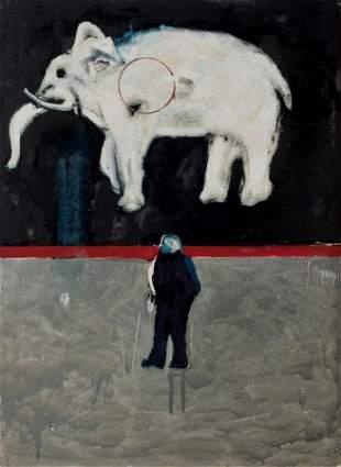 "James Davis, ""Elephant Walk"""