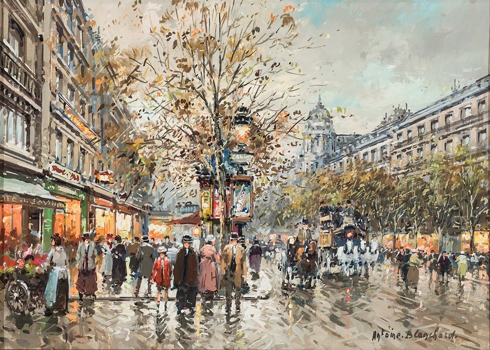 Antoine Blanchard (French, 1910-1988) 'Les Grands