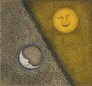 Rufino Tamayo (Mexican, 1899-1991) 'Sol y Luna'