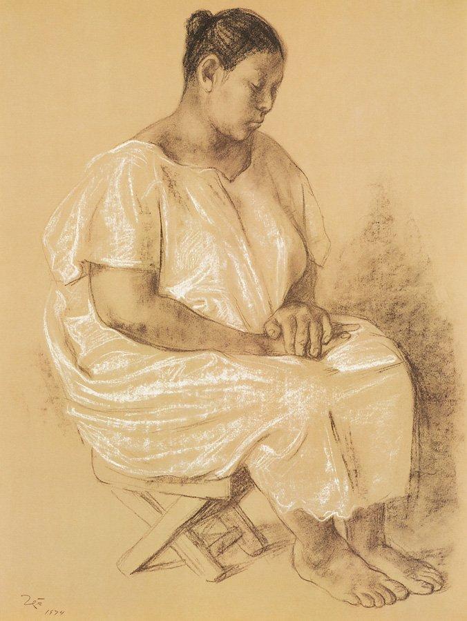 Francisco Zúñiga (Mexican, 1912-1998) 'ZUNIGA 20 - 3