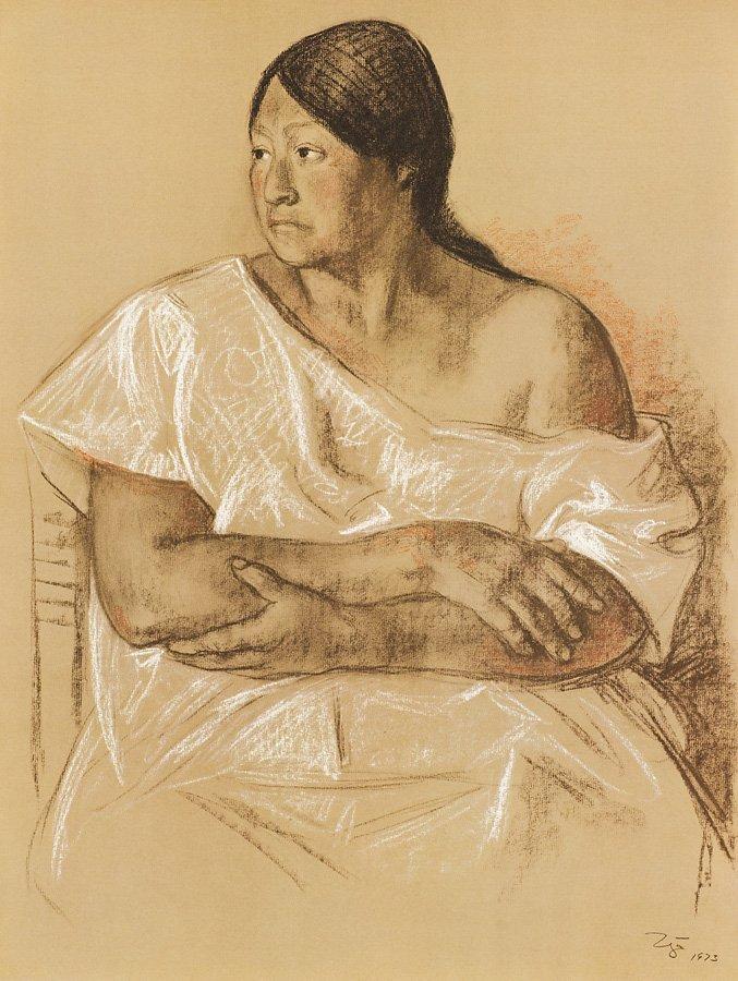 Francisco Zúñiga (Mexican, 1912-1998) 'ZUNIGA 20 - 9