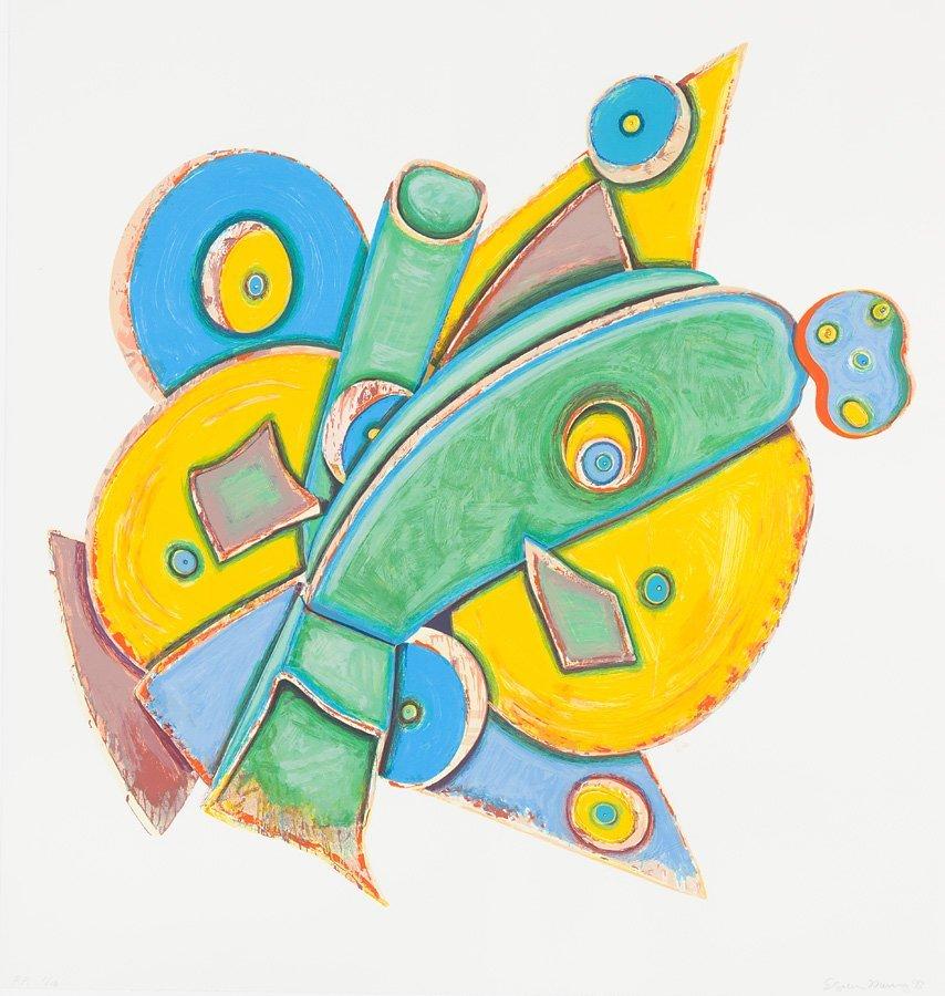 Elizabeth Murray (American, 1940-2007) 'Clock'