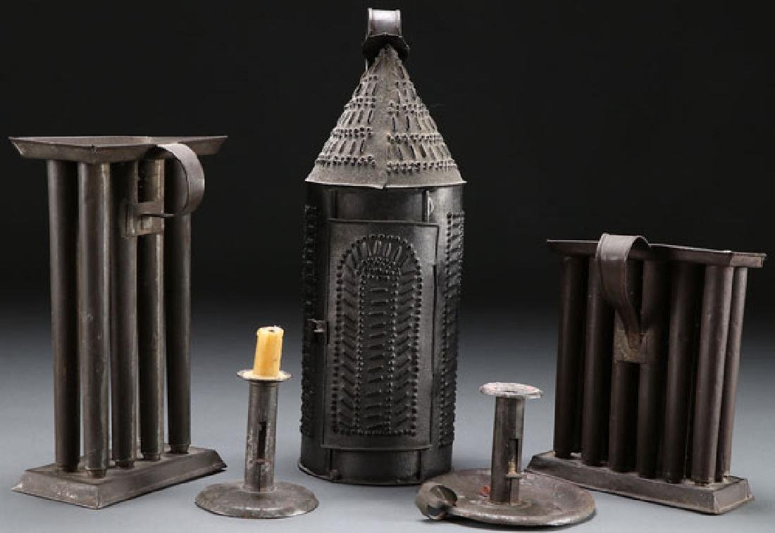 5 EARLY AMERICAN LIGHTING DEVICES