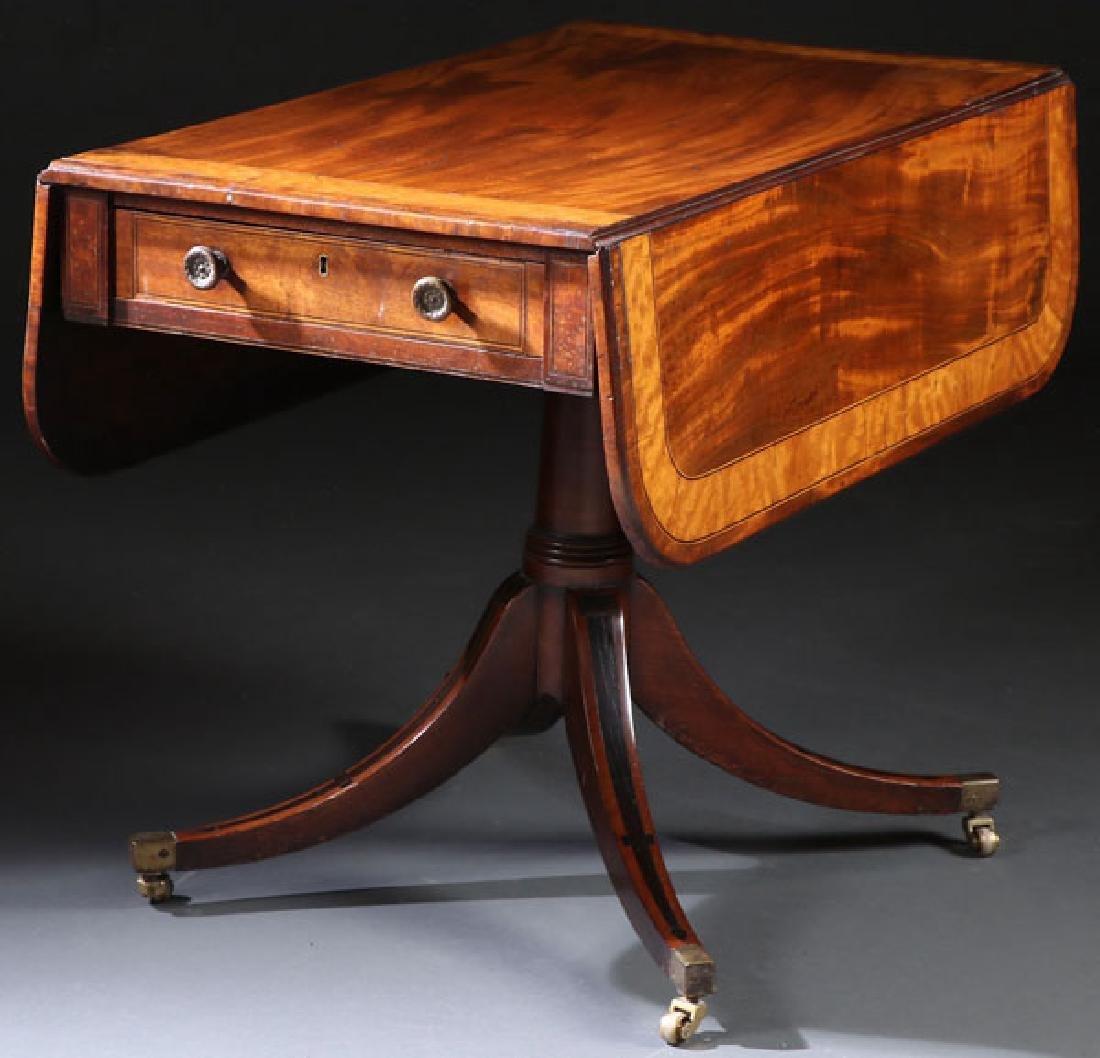 A GOOD GEORGIAN BREAKFAST TABLE, EARLY 19TH C