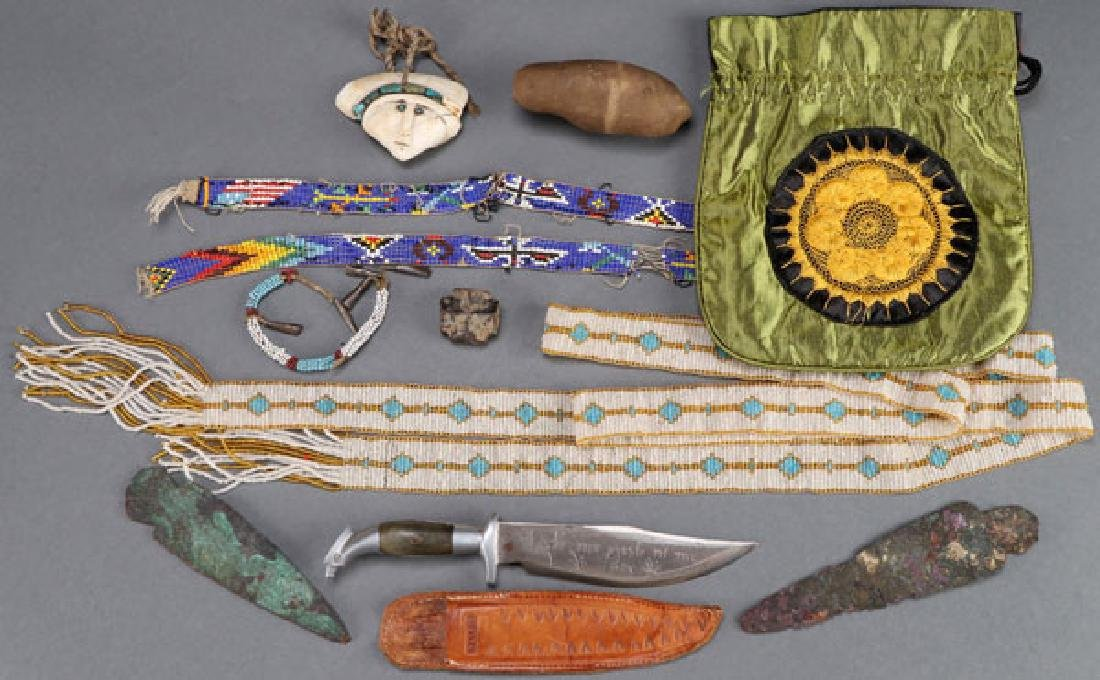 A MOSTLY NATIVE AMERICAN DECORATIVE ARTS GROUP