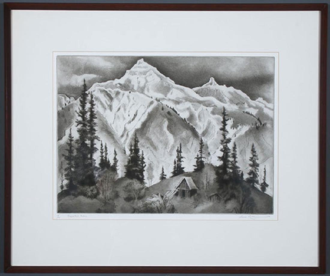 GENE KLOSS SOUTHWEST ETCHING - 2
