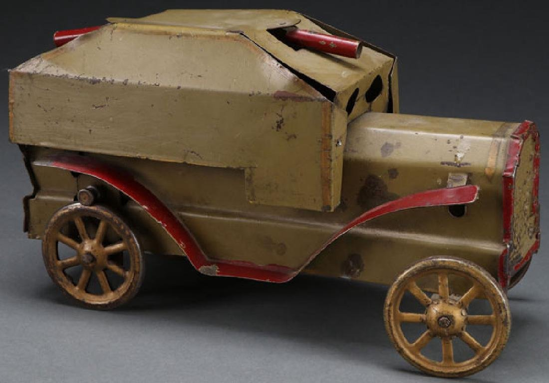 A DAYTON HILLCLIMBER ARMOUR CAR, EARLY 20TH C