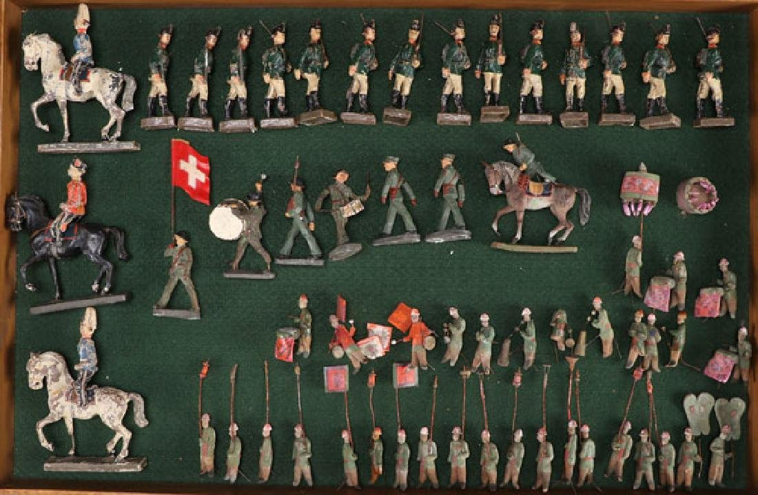 EARLY CAST COMPOSITION MILITARY FIGURES - 2