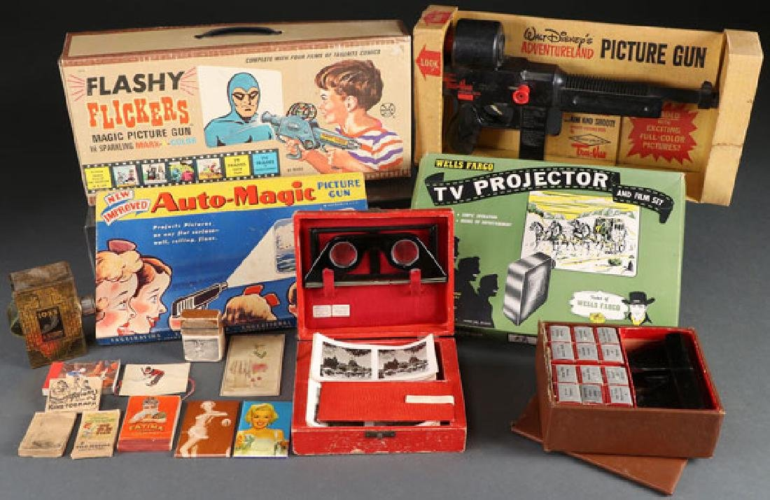 EARLY TELEVISION RELATED TOYS