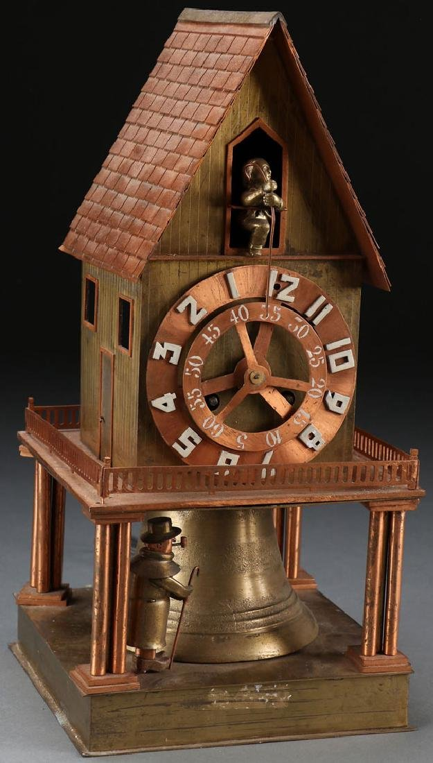 FRENCH ARCHITECTURAL CLOCK BY HURET
