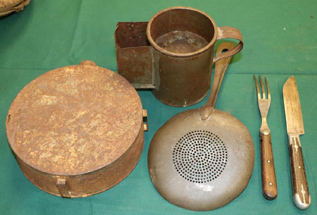 CIVIL WAR CANTEEN AND ACCOUTREMENTS - 5