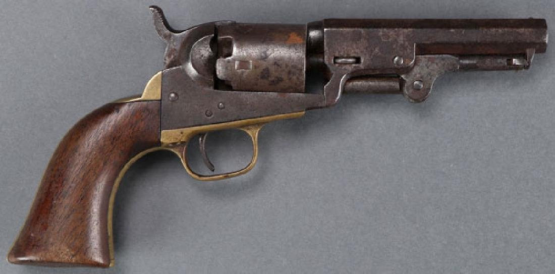 A PAIR OF CIVIL WAR REVOLVERS, COLT AND MANHATTAN - 2