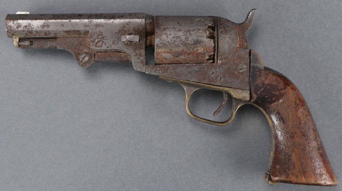 A PAIR OF CIVIL WAR REVOLVERS, COLT AND MANHATTAN - 3