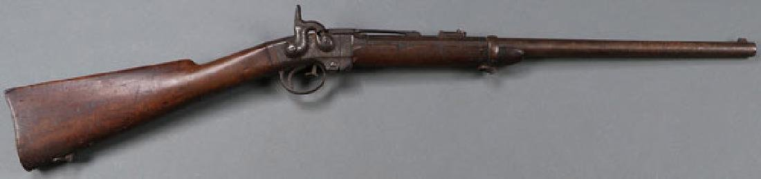 A GOOD CIVIL WAR SMITH SADDLE RING CARBINE