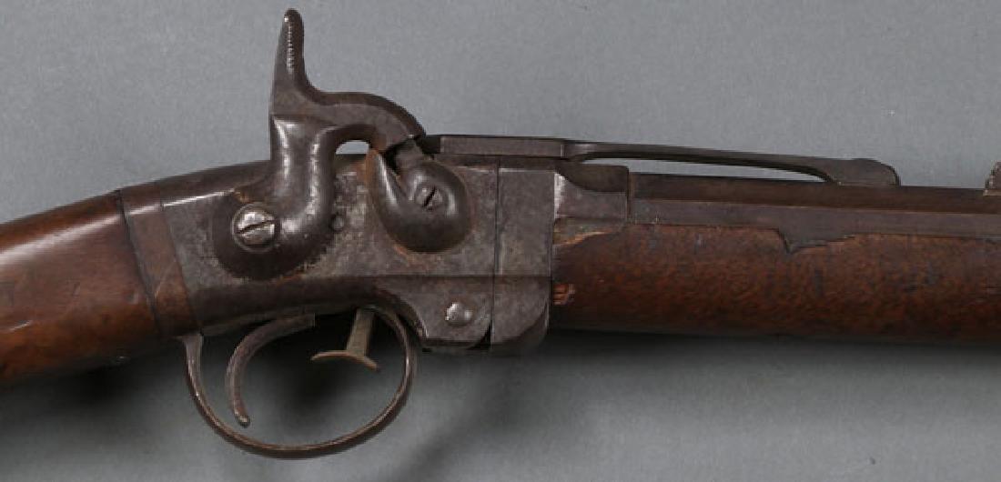 A GOOD CIVIL WAR SMITH SADDLE RING CARBINE - 2
