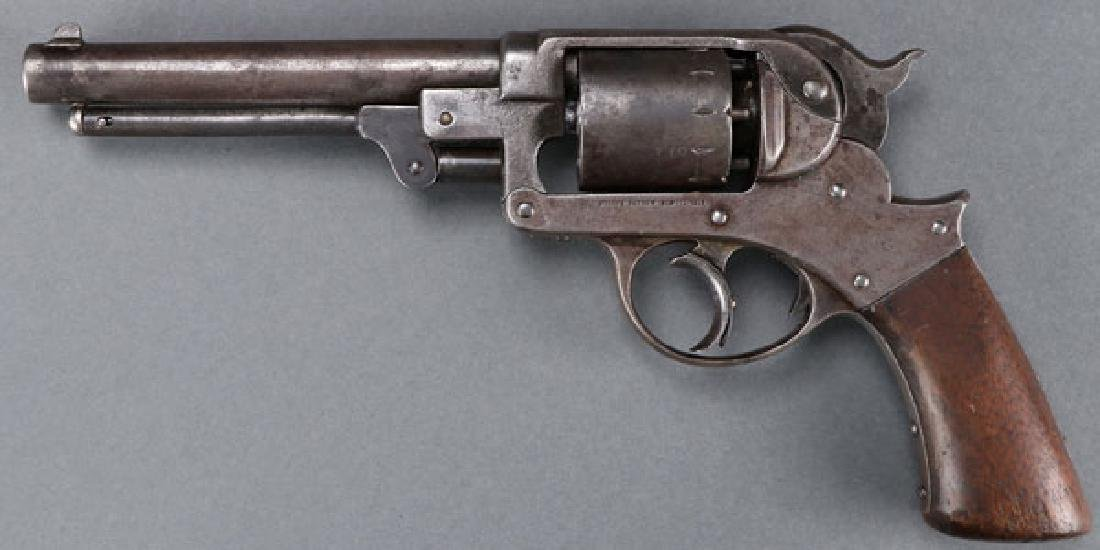 CIVIL WAR STARR MODEL 1858 ARMY DOUBLE ACTION - 2