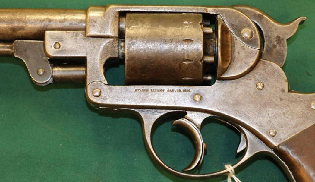 CIVIL WAR STARR MODEL 1858 ARMY DOUBLE ACTION - 3