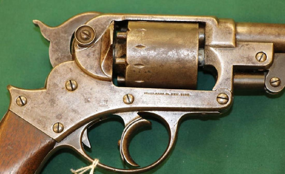 CIVIL WAR STARR MODEL 1858 ARMY DOUBLE ACTION - 4
