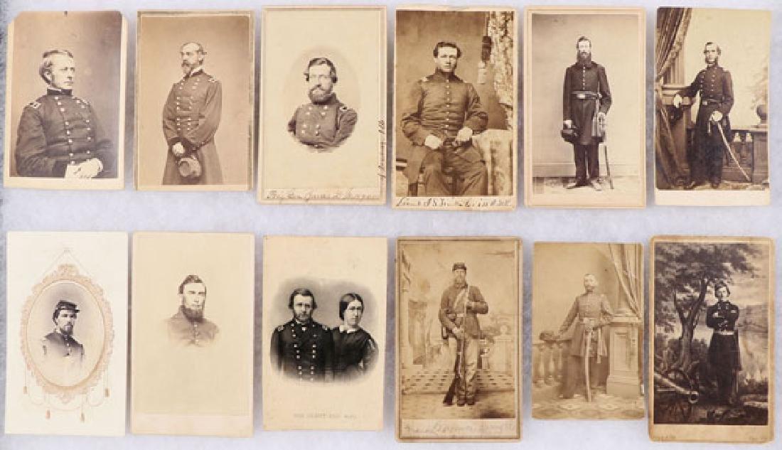 A GROUP OF 11 CIVIL WAR CVD'S