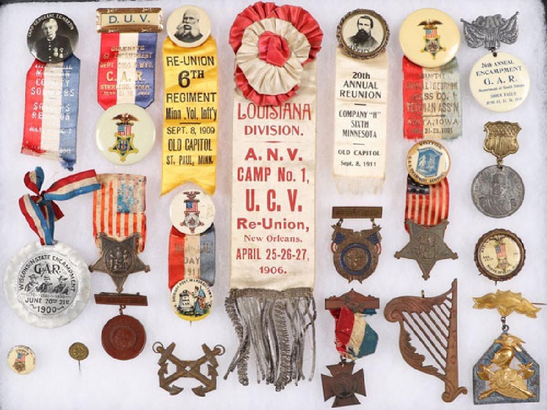 57 CIVIL WAR BADGES (THE MAJORITY GAR) - 2