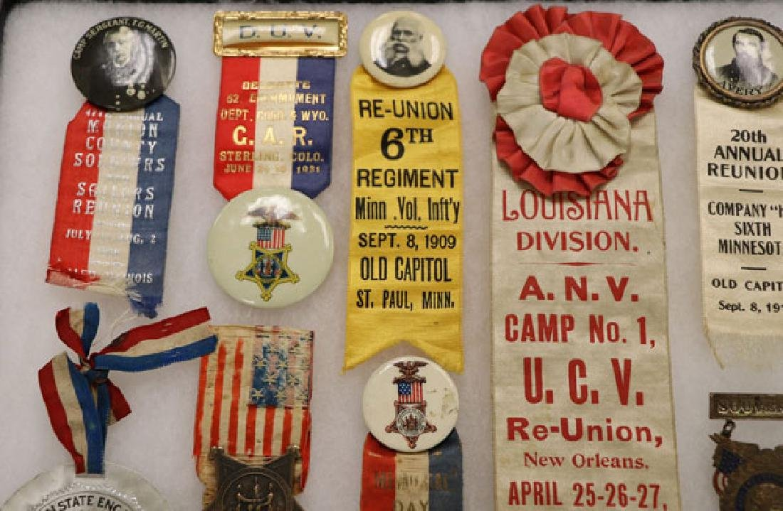57 CIVIL WAR BADGES (THE MAJORITY GAR) - 4