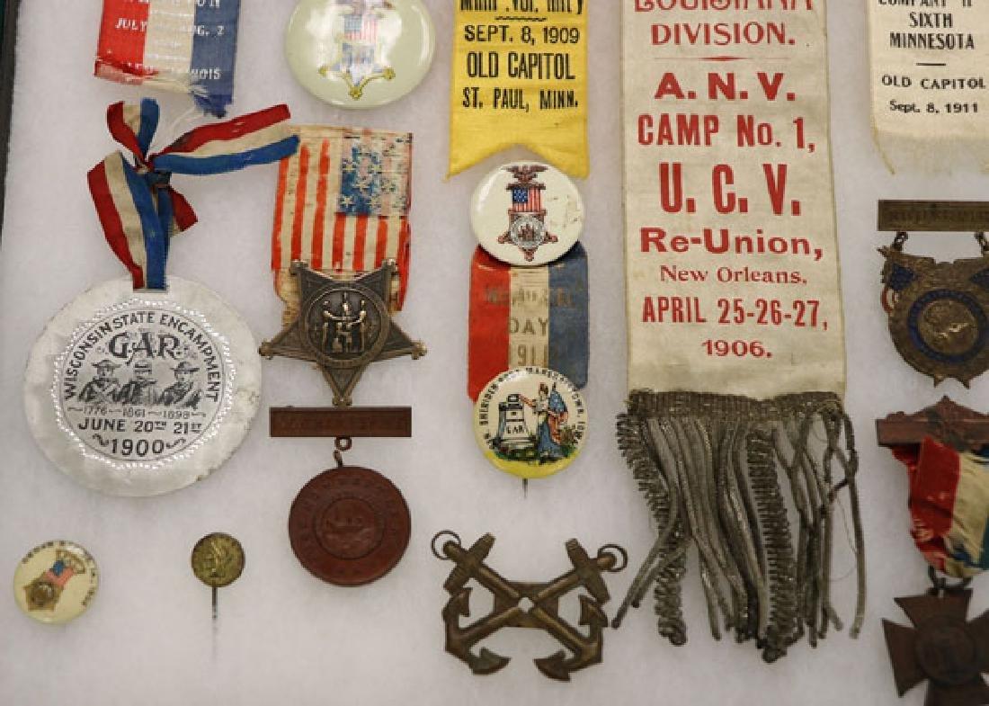 57 CIVIL WAR BADGES (THE MAJORITY GAR) - 5