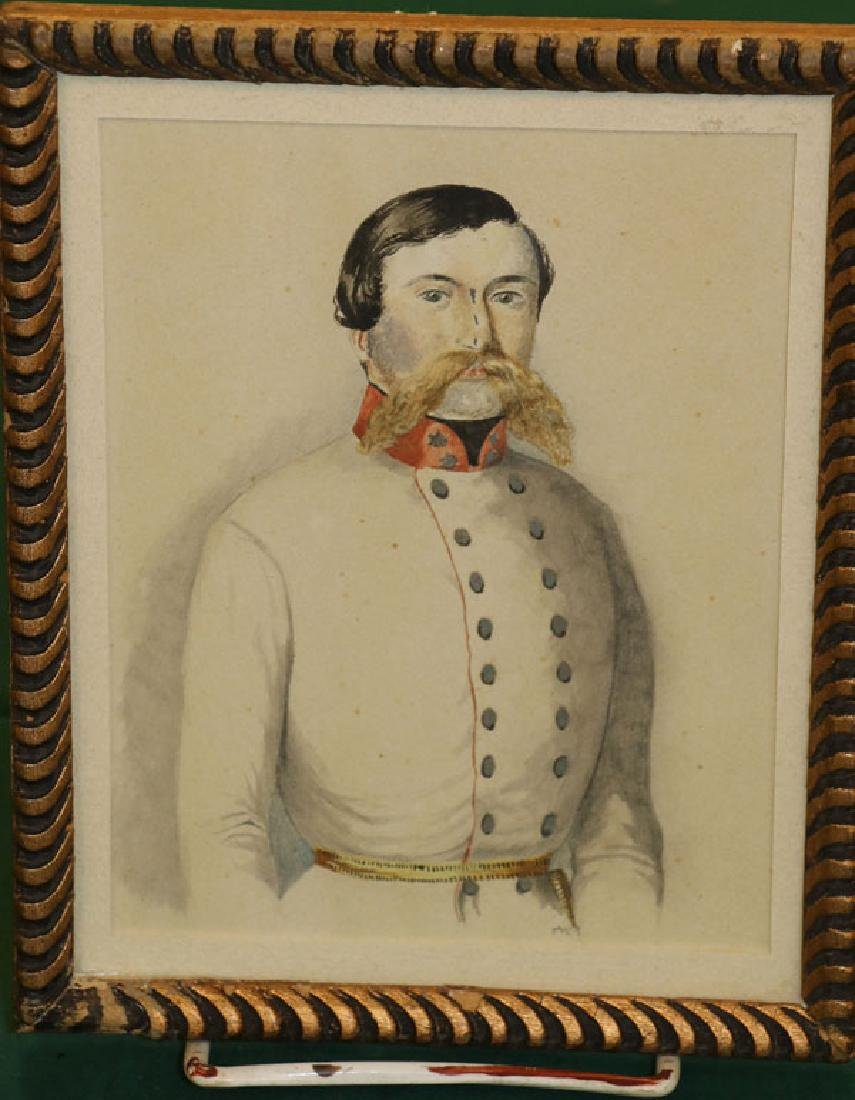THREE CIVIL WAR RELATED MILITARY PORTRAITS - 2