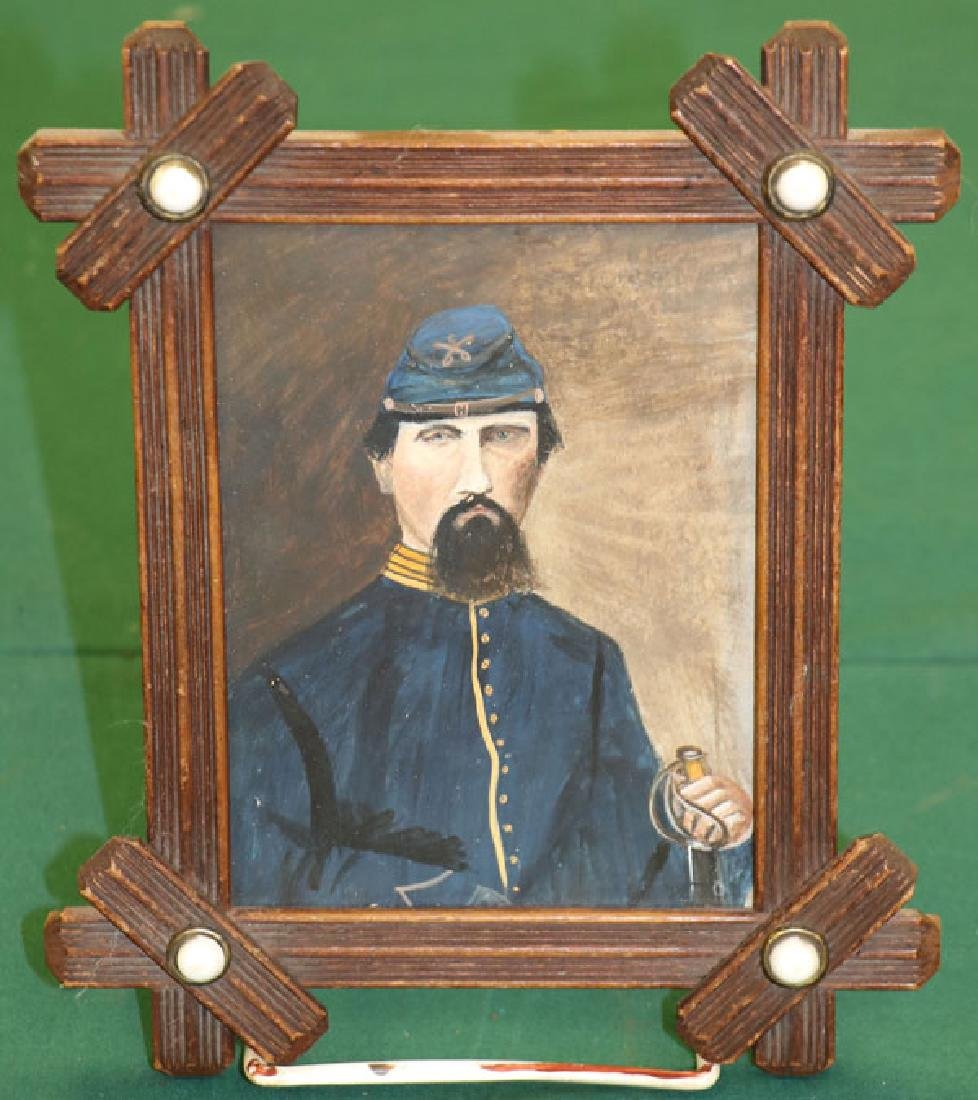 THREE CIVIL WAR RELATED MILITARY PORTRAITS - 4