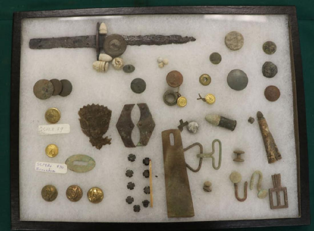 A GROUP OF OVER 150 CIVIL WAR REGALIA AND RELICS - 5