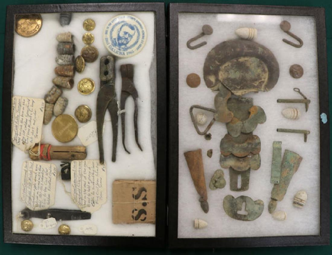 A GROUP OF OVER 150 CIVIL WAR REGALIA AND RELICS - 6