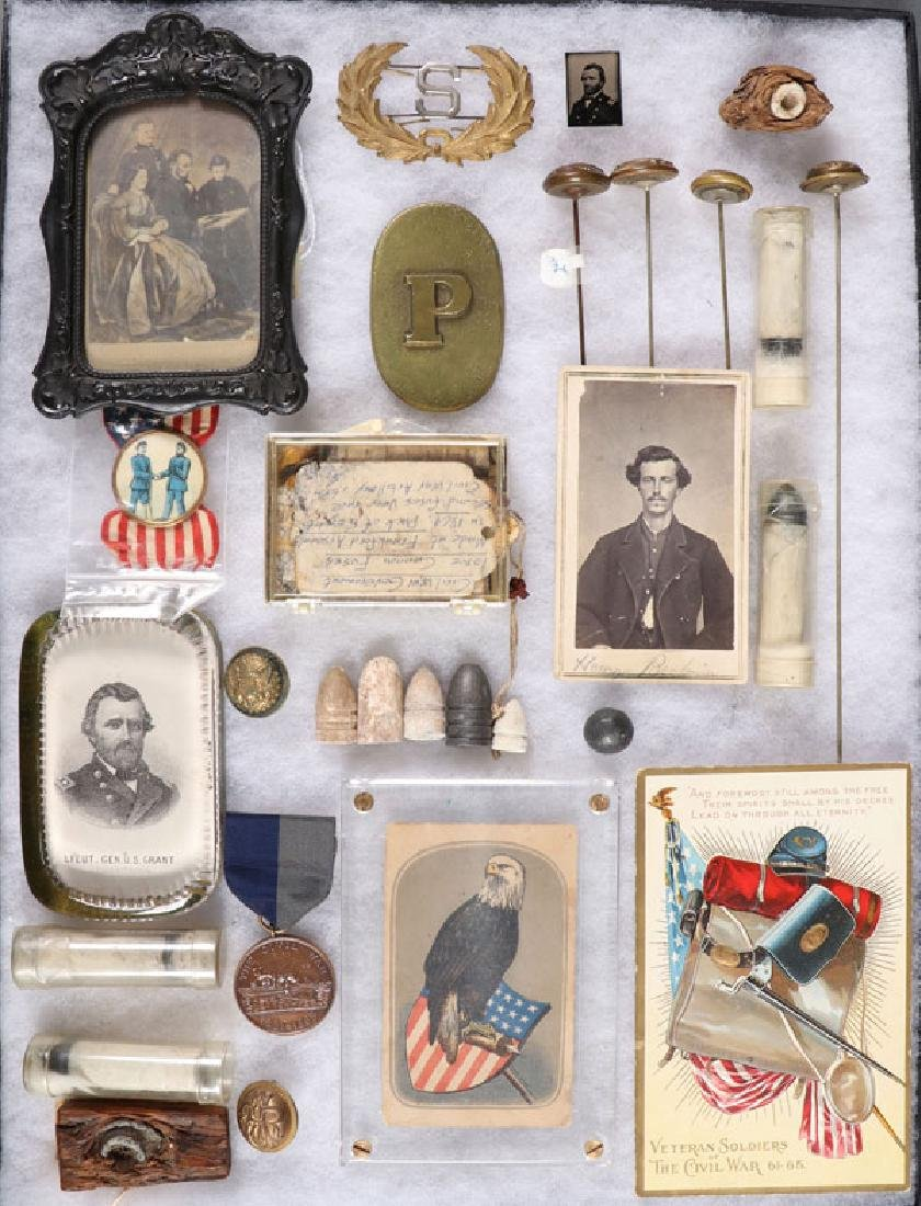 A GROUP OF 30 CIVIL WAR RELATED MATERIAL