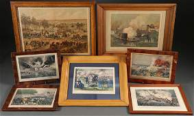 A GROUP OF 13 CIVIL WAR LITHOGRAPH PRINTS