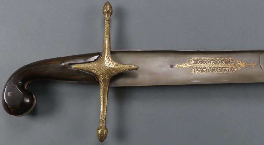 A LARGE OTTOMAN KILIJ SWORD, 19TH CENTURY - 2