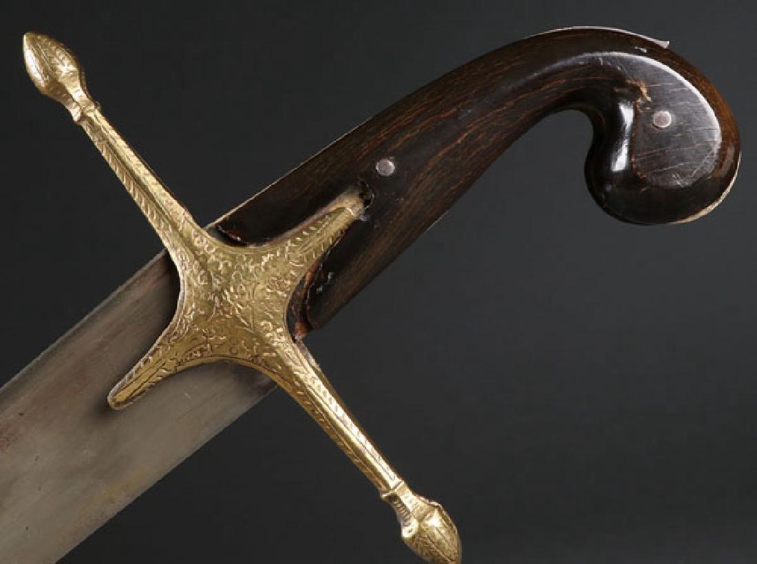 A LARGE OTTOMAN KILIJ SWORD, 19TH CENTURY - 3